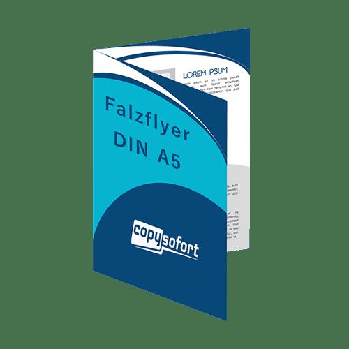 Flyer Faltblätter DIN A5